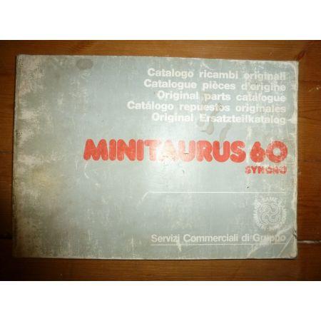 MiniTaurus 60 Syncro Catalogue Pieces Same