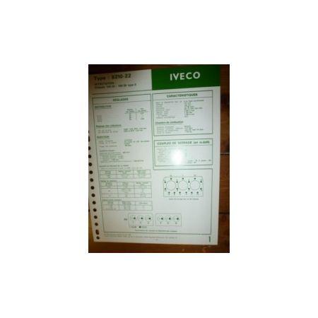 8210-22 Fiche Technique Iveco