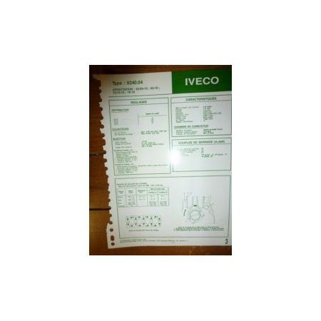 8340-04 Fiche Technique Iveco