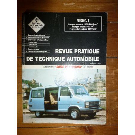 J5 1800-2000 Revue Technique Peugeot