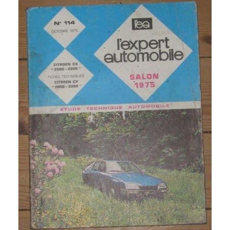 CX 2000 Revue Technique Citroen