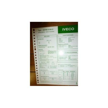 8140-21 Fiche Technique Iveco