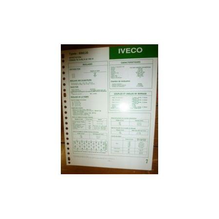 8060-05 Fiche Technique Iveco