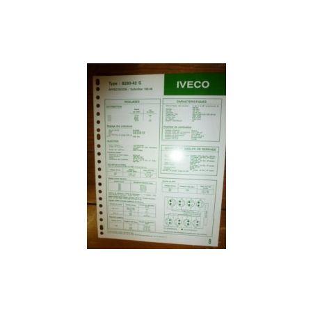 8280-42S Fiche Technique Iveco