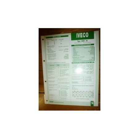 8060-45 Fiche Technique Iveco