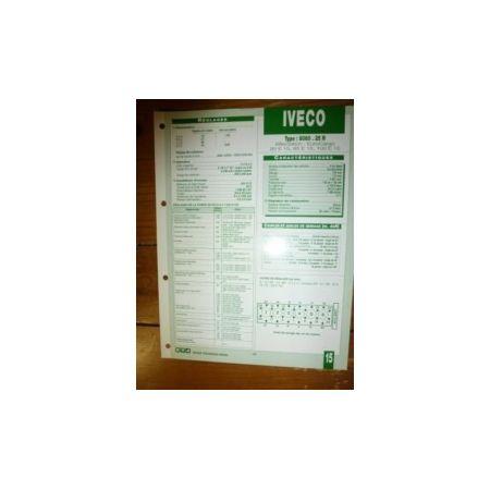 8060-25R Fiche Technique Iveco