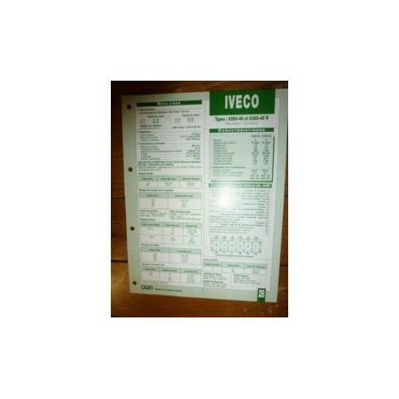 8360-46 - 8360-46R Fiche Technique Iveco
