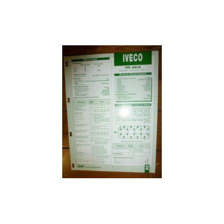 8040-45 Fiche Technique Iveco