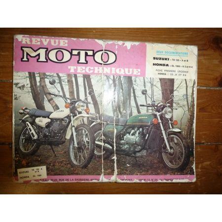 TS125 GL1000 Revue Technique moto Honda Suzuki