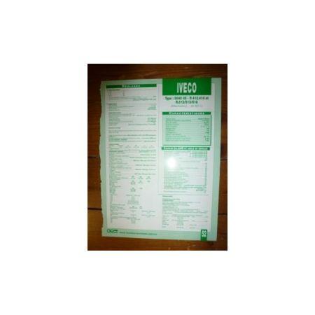 8045-05 R412-414 R512-513-518 Fiche Technique Case IH