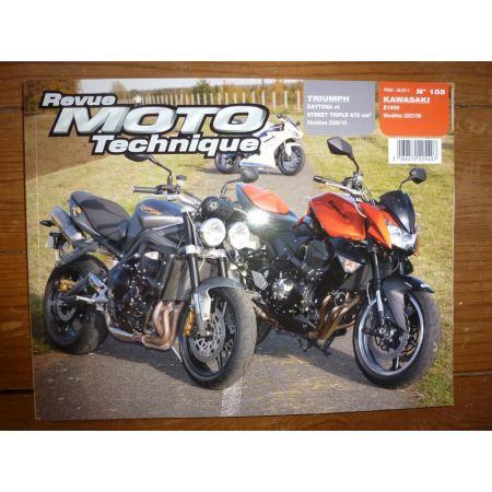 Daytona Street T Z1000 Revue Technique moto Kawasaki Triumph
