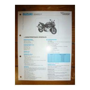 GSX650F Fiche Technique Suzuki
