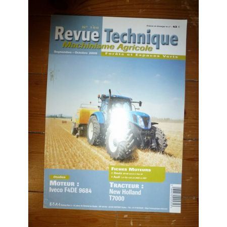 T7000 Revue Technique Agricole New Holland