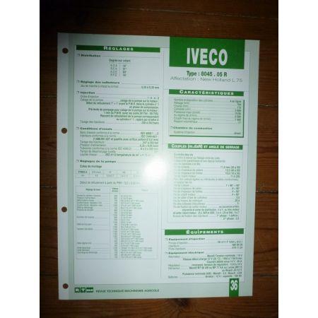 8045-05R Fiche Technique Iveco
