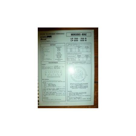 LP709-709R-809-809R Fiche Technique Mercedes
