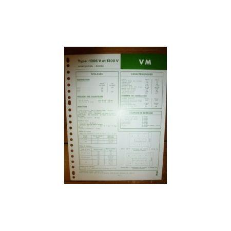 1306V - 1308V Fiche Technique Vm