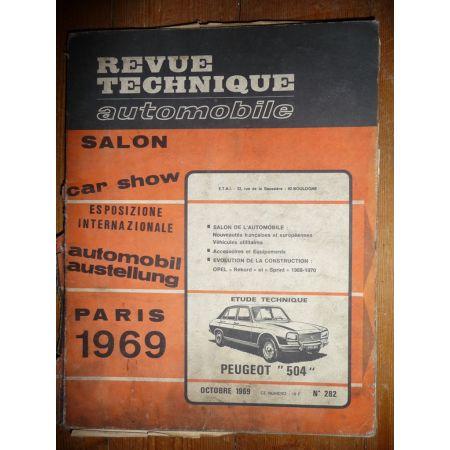 504 Revue Technique Peugeot