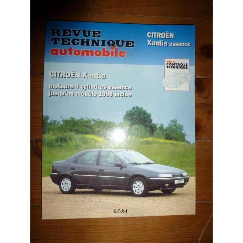 rta revues technique automobile citroen xantia essence jusqu 39 en 1996 inclus moteurs 4 cylindres. Black Bedroom Furniture Sets. Home Design Ideas