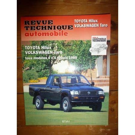 Hilux Taro Revue Technique Toyota Volkswagen