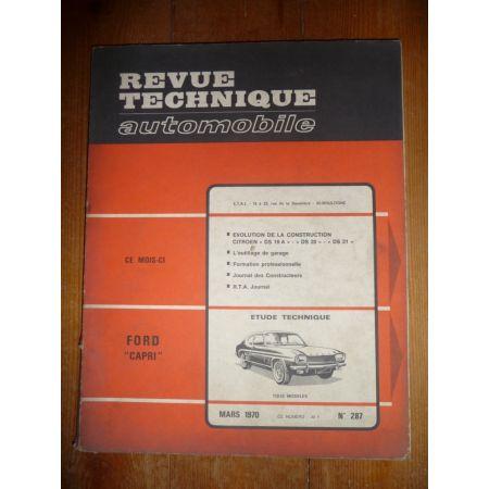 Capri Revue Technique Ford