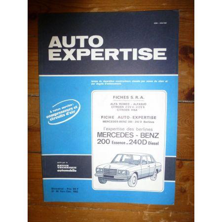 200E 240D Revue Auto Expertise Mercedes