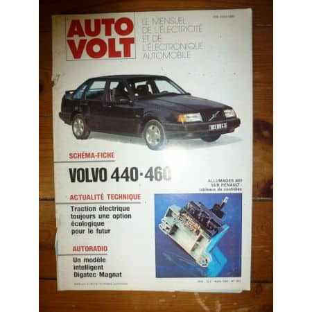440 460 Revue Technique Electronic Auto Volt Volvo