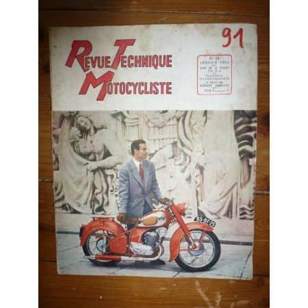 256 TC4 Revue Technique moto Peugeot