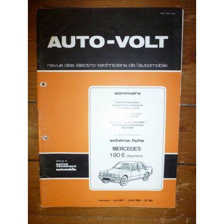 190E Inj Revue Technique Electronic Auto Volt Mercedes
