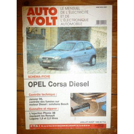 Corsa Die Revue Technique Electronic Auto Volt Opel