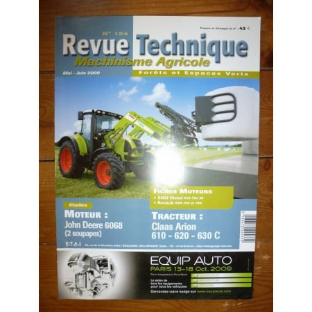 ARION 610 à 630 Revue Technique Agricole Claas