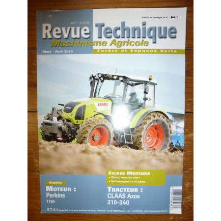 ARION 310 340 Revue Technique Agricole Claas