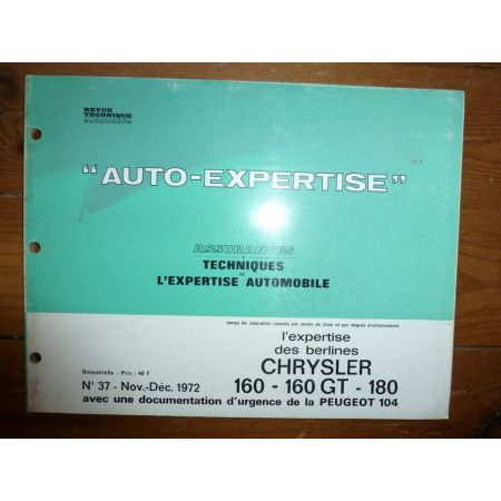 160 160GT 180 Revue Auto Expertise Chrysler