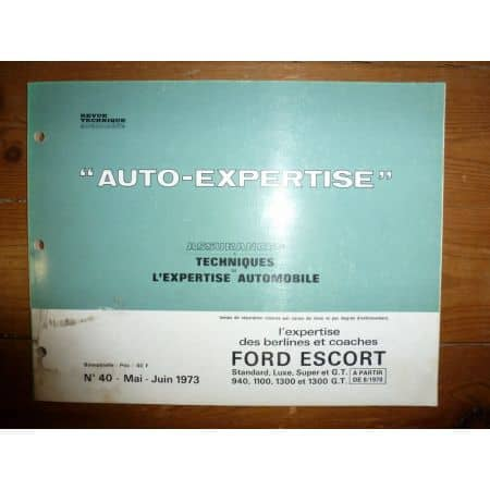 Escort 70- Revue Auto Expertise Ford