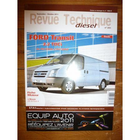 Transit 2.2 TDCi Revue Technique Ford