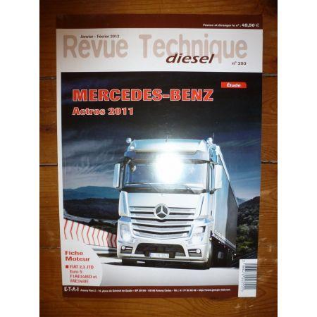 Actros Revue Technique PL Mercedes