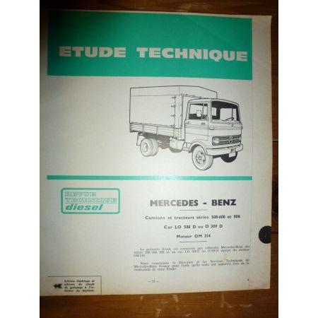 508 608 808 Revue Technique Mercedes