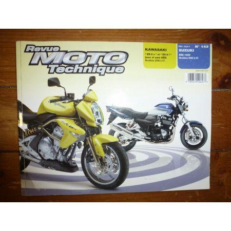 ER-6 GSX1400 Revue Technique moto Kawasaki Suzuki