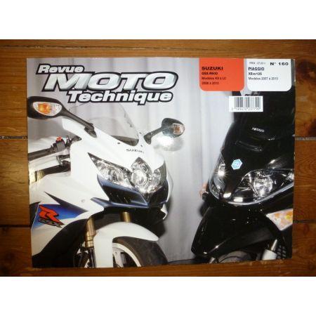 XEvo 125 GSXR600 Revue Technique moto Piaggio Suzuki