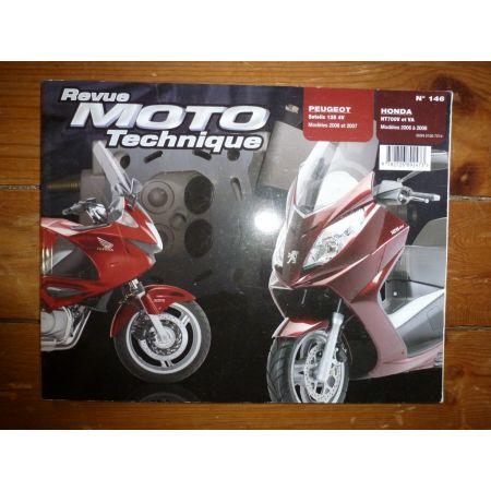 NT700V VA Satelis 125 4V Revue Technique moto Honda Peugeot