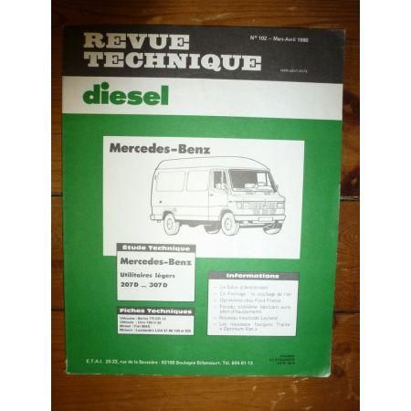 207D - 307D Revue Technique Mercedes