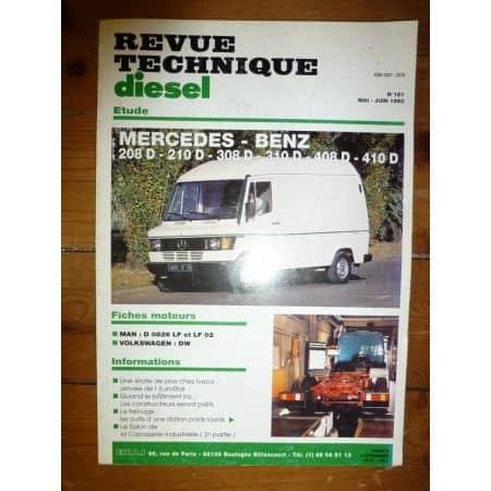 208-410D Revue Technique Mercedes