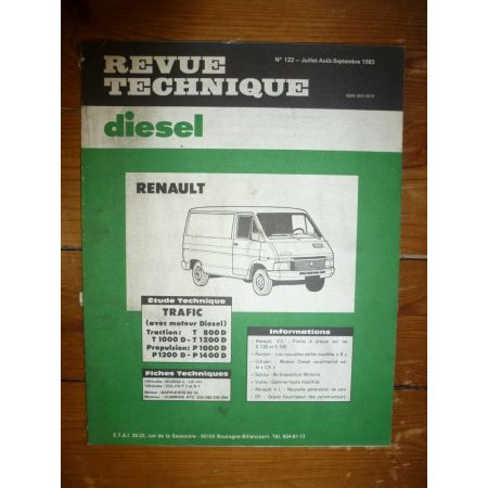 Trafic T P Revue Technique Renault