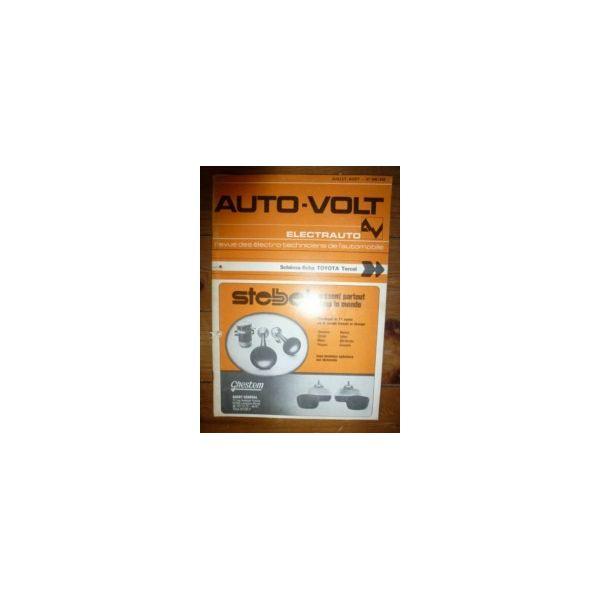 Tercel Revue Technique Electronic Auto Volt Toyota