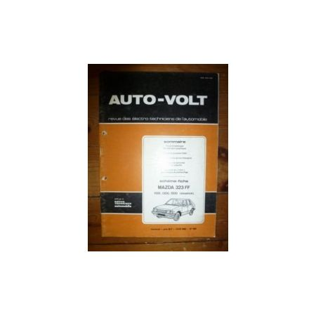323 FF Revue Technique Electronic Auto Volt Mazda