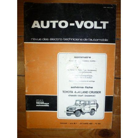 Land Cruiser Ess Revue Technique Electronic Auto Volt Toyota