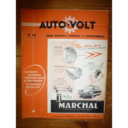 ID19 Revue Technique Electronic Auto Volt Citroen