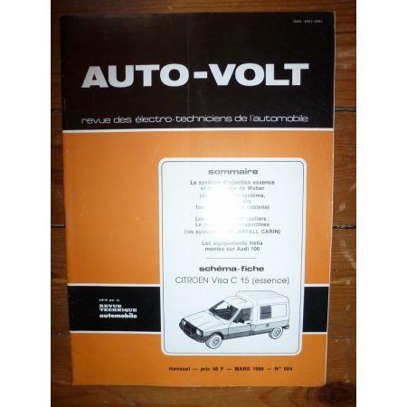 C15 Visa Ess Revue Technique Electronic Auto Volt Citroen