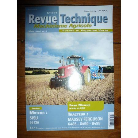 6485 6490 6495 Revue Technique Agricole Massey Ferguson