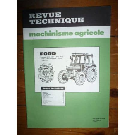 2610 2910 3610 3910 4110 4610 Revue Technique Agricole Ford