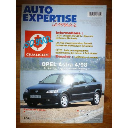 Astra 98- Revue Auto Expertise Opel